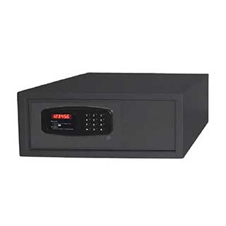 Hotel Room Safes - Luxury Laptop Safe - 19 (h) X 43 (w) X 38 (d) - Black