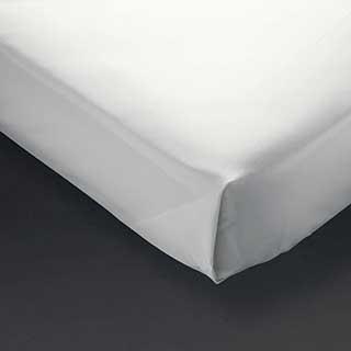 Hotel Flat Sheet - 100% Cotton Percale - 200tc - White