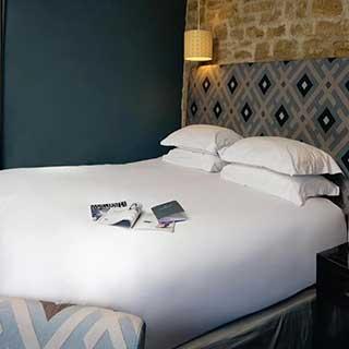 Hotel Flat Sheets - 100% Cotton - 300tc - White