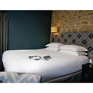 Hotel Pillow Cases - Housewife Style 52x78cm  - 100% Cotton - 300tc - Pack Qantity 1 - White