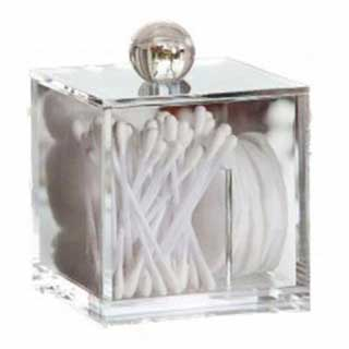 Hotel Toiletries Presentation Jar - Square Clear Acrylic Storage Jar
