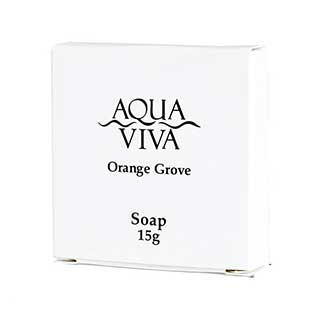 Aqua Viva Range Hotel Toiletries - 15g Boxed Soap - 250 Per Case