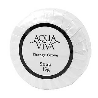 Aqua Viva Range Hotel Toiletries - 15g Soap