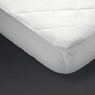 Hotel Mattress Protector - Aquasoft Mattress Protector - Fully Fitted - White