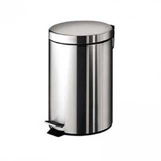 Waste Bins - Bathroom Pedal Bin - 3 Litre - Chrome