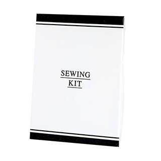 Black & White Collection Hotel Toiletries - Sewing Kit In Carton - 50 Per Case