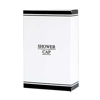 Black & White Collection Hotel Toiletries - Shower Cap In Carton - 50 Per Case