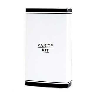 Black & White Collection Hotel Toiletries - Vanity Kit In Carton - 50 Per Case