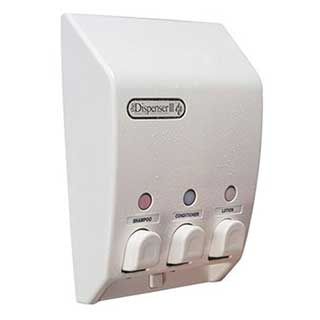 Hotel Toiletries - Soap Dispenser - Classic Iii - Wall Mounted - Non Locking - White