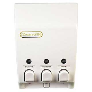 Hotel Toiletries - Soap Dispenser - Classic Iii - Wall Mounted - White