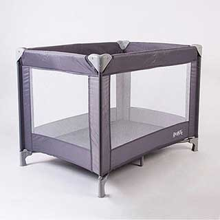Hotel Travel Cots - Compact Travel Cot - 103 X 73 X 76cm - Grey