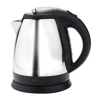 Hotel Kettle - Cordless Kettle - 1 Litre - Chrome And Black