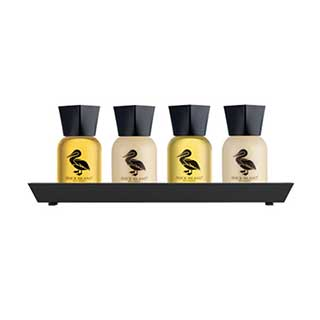 Duck Island Hotel Toiletries - Presentation Tray - Black