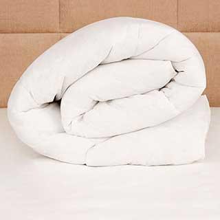 Hotel Duvet - Healthy Living Duvet - Antimicrobial Fibre - Anti-allergy - White