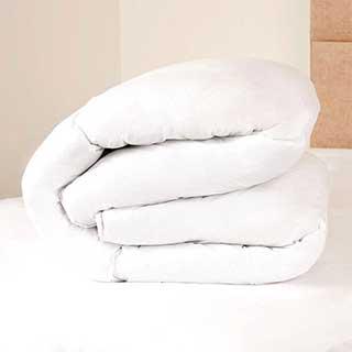 Hotel Duvet - Spring Back Hollowfibre Filling - 13.5 Tog - Anti-allergy - White