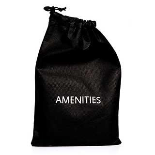 Hotel Amenities - Amenity Bag - Black - 20 Per Case
