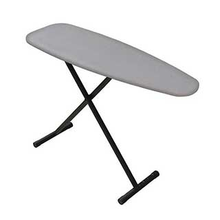 Hotel Ironing Board - Premier Lightweight Ironing Board - 7 Height Positions - Black