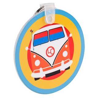 Hotel Key Tag - Acrylic - Printed Full Colour - Round