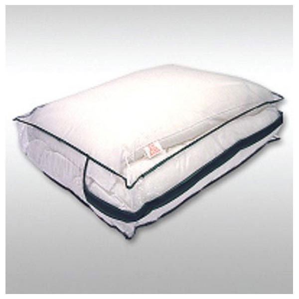 hotel pillow storage bag zipped heavy duty clear pvc