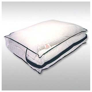 Hotel Pillow Storage Bag - Zipped - With Carrying Handles - Heavy Duty Clear Pvc