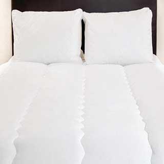 Hotel Duvet - Luxury Microfibre Filling - 100% Cotton Cover - 10.5 Tog - Anti-allergy - White