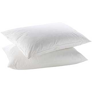 Hotel Pillows - Heavyweight Luxury Microfibre Bounce Back Filling With Microfibre Cover - 900g White