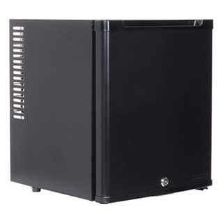 Lockable Mini Bar - Corby Eton - 20 Litre Capacity - H 43cm W 36cm D 39cm - Black