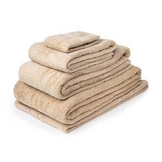 Hotel Towels - Nova Range - High Quality - 100% Cotton - 500gsm - Beige