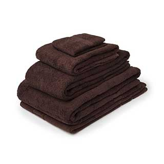 Hotel Towels - Nova Range - High Quality - 100% Cotton - 500gsm - Chocolate