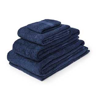 Hotel Towels - Nova Range - High Quality - 100% Cotton - 500gsm - Navy