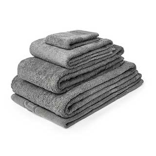 Hotel Towels - Nova Range - High Quality - 100% Cotton - 500gsm - Slate