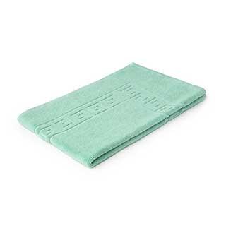 Hotel Bath Mat - Towelling - Nova Design - High Quality- 100% Cotton - 700gsm - 50x80cm - Mint