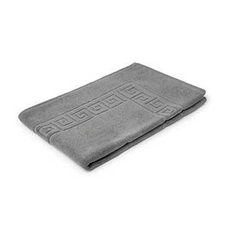 Hotel Bath Mat - Towelling - Nova Design - High Quality- 100% Cotton - 700gsm - 50x80cm - Slate