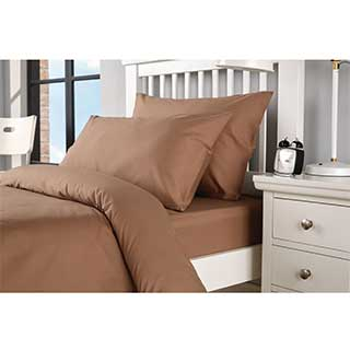 Hotel Pillow Cases - 50/50% Polyester Cotton - Housewife Style - Deep Colours
