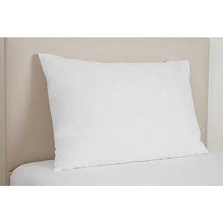 Flame Retardant Pillow - Flame Retardant Polyester Filled - 18oz - White