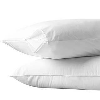 Hotel Pillow Protector - Luxury Quilted 100% Natural Cotton  S