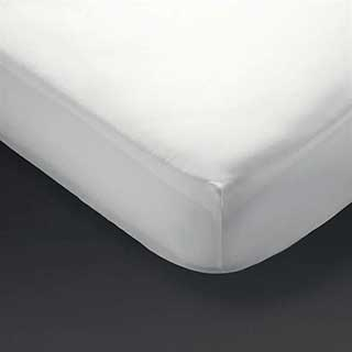 Hotel Fitted Sheets - Polyester / Cotton Percale - 180tc - White