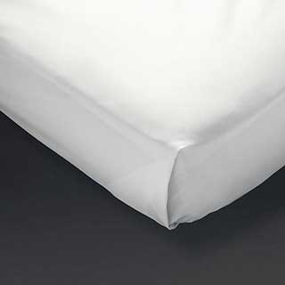 Hotel Flat Sheets - Polyester / Cotton Percale - 180tc - White