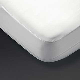Hotel Mattress Protectors - Protect-a-bed Basic Fitted Mattress Protector - White