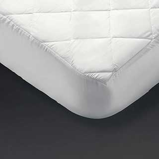 Hotel Mattress Protector - Quilt Top Mattress Protector - Fully Fitted - White