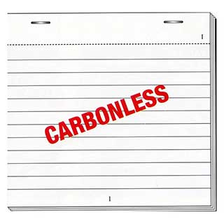 Hotel Carbonless Restaurant Pad - Pad D1 - Ncr - Duplicate Pad