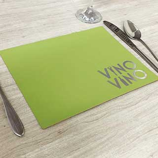 Riva Design Hotel Table Mats and Coasters - Eco-friendly