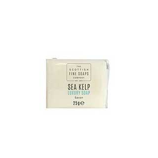 Sea Kelp Hotel Toiletries Collection - 25g Clear Wrapped Luxury Soap - 336 Per Case