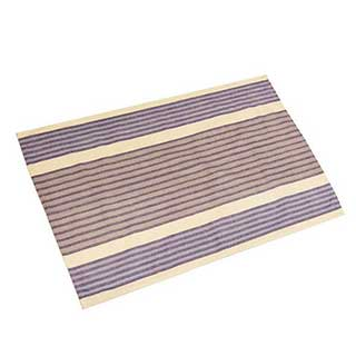 Hotel Tea Towel - 100% Cotton - 50x75cm - Blue Multi Stripe - Pack Of 50