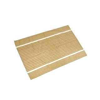 Hotel Tea Towel - 100% Cotton - 50x75cm - Brown Multi Stripe - Pack Of 50