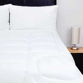 Hotel Zip And Link Duvets - Super Luxury Tencel Filling - 10.5tog - Set Of 2 - White