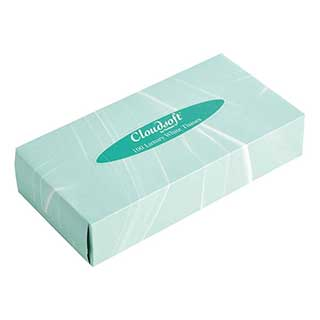 Hotel Tissue Box Refills - Rectangular Box Tissue Refills