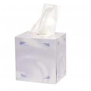 Tissue Box - Cube Box Tissue Refills -  24 Refills Per Case