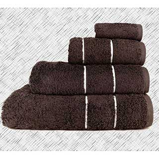 Hotel Towels - Super Luxury Quality - 700gm Egyptian Quality Combed Cotton - Dark Chocolate