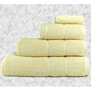Hotel Towels - Super Luxury Quality - 700gm Egyptian Quality Combed Cotton - Vanilla